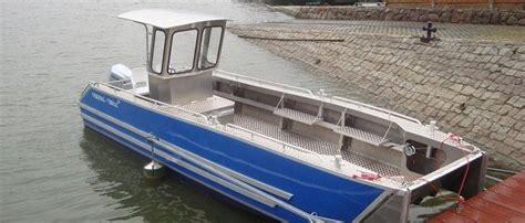 Alu Boten by Aluminium Boot Viking 750 Solides Arbeits Tauch Und