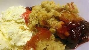 Pflaumen Crumble Rezept : pflaumen amaretto crumble mit mandelstreuseln rezept mit ~ Lizthompson.info Haus und Dekorationen