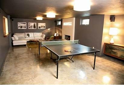 Concrete Floor Floors Sanding Basement Wood Polished