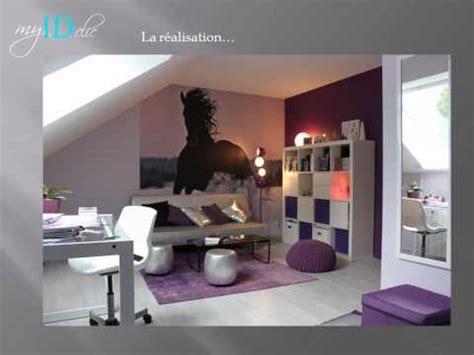 chambre violette déco chambre d 39 ado fille violette chambre de fille