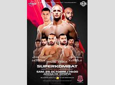 Carl Emery proudly announces the first Superkombat in