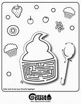 Coloring Muffins Popular sketch template