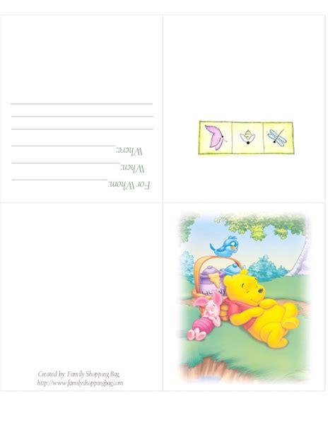 printable winnie  pooh baby shower invitations party xyz