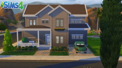 les sims 4 maison familiale d oasis sans cc construction speed build