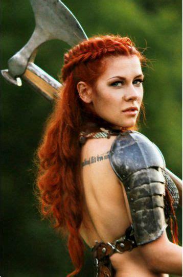 Pin by Anna Bryngelson on Armor   Viking hair, Warrior ...