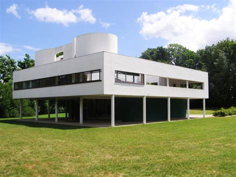 Villa Savoye Innen by Villa Savoye Le Corbusier Design Architecture World