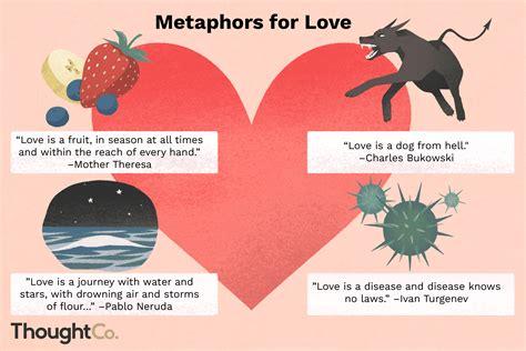 love metaphors  literature  pop culture