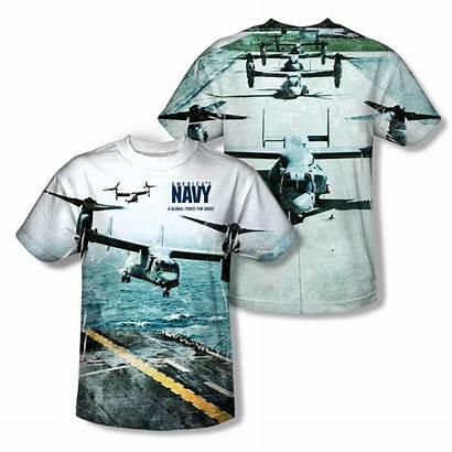 Shirt Navy Osprey Sublimation Shirts Apparel Military