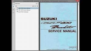 Suzuki Bandit Gsf400   Repair Manual