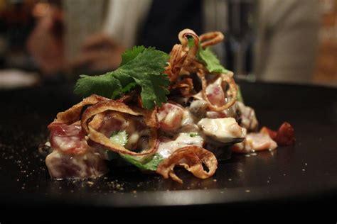 tartare cuisine 12000 francs modern innovative european cuisine
