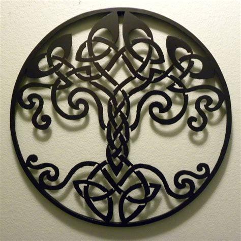 fancy ideas celtic wall design metalscape circle metal stickers wood uk decor fc