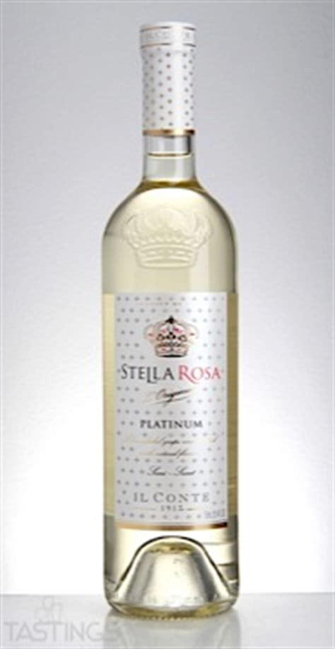stella rosa nv platinum white italy italy wine review