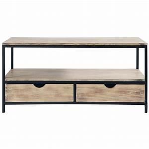 meuble tele 24 nouveautes de 995 euros a 369 euros With awesome meuble tv maisons du monde 9 meuble tv industriel pas cher