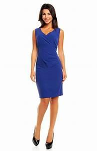 tailleur robe bleu km km162b idresstocode boutique de With robe bleu or