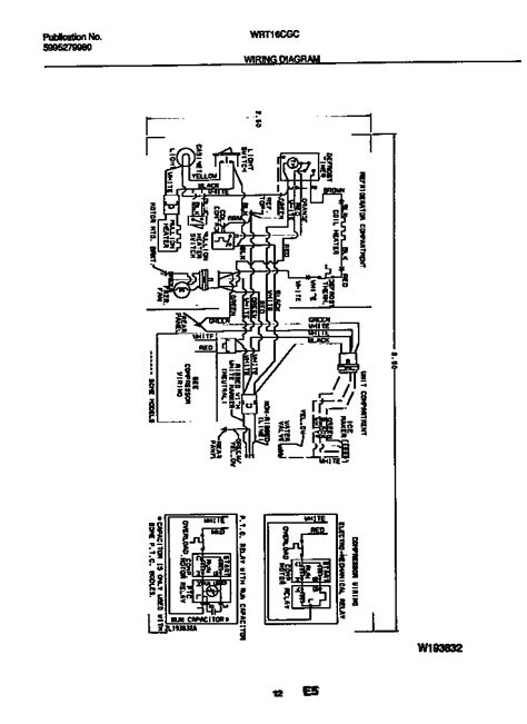 white westinghouse refrigerator wiring diagram parts wrt16cgcz3 searspartsdirect