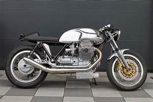 Racing Caf U00e8  Moto Guzzi Caf U00e8 Racer By Radicalguzzi