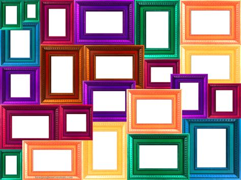 colorful picture frames window frame collage colorful collage of frames frame