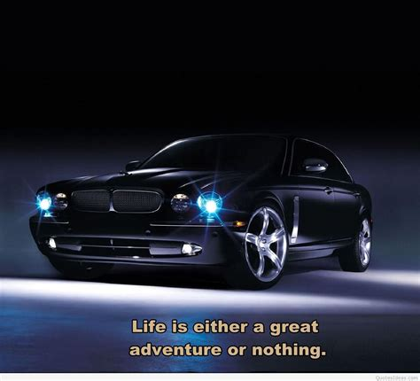 Jaguar Car Wallpaper With A Great Quote