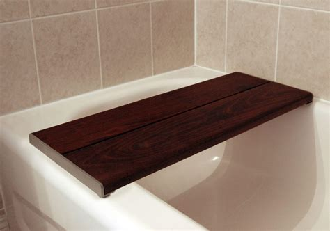 bath bench brazilian walnut accessible systems