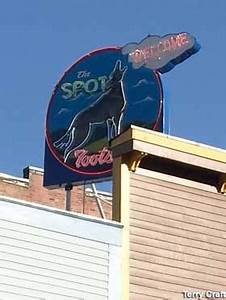 Deadwood SD Neon Tribute to Tootsie the Singing Coyote