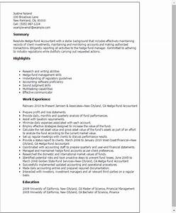 Stellar Cover Letter Samples Professional Hedge Fund Accountant Templates To Showcase