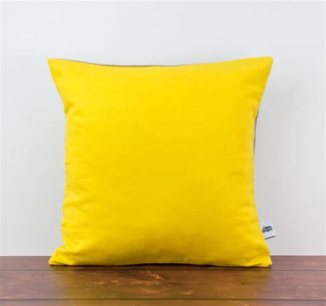 yellow decorative pillow yellow cushion yellow pillow yellow throw pillow yellow