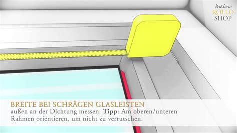 Wie Räuchert Richtig by Richtig Messen Bei Plissee Montage In Der Glasleiste Www