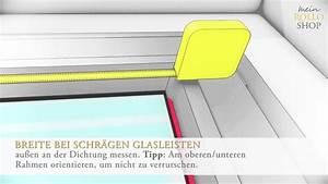 Fenster Richtig Ausmessen : richtig messen bei plissee montage in der glasleiste youtube ~ Watch28wear.com Haus und Dekorationen