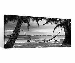 Palme Schwarz Weiß : leinwand 1 tlg meer schwarz wei insel palme landschaft wasser bilder 9c098 holz fertig ~ Eleganceandgraceweddings.com Haus und Dekorationen