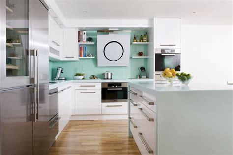 seagrass corian worktops give  kitchen  wow factor