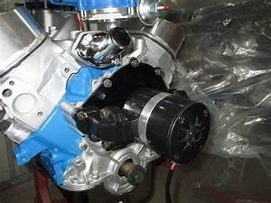 Ford 289  302  351w Electric Water Pump  U2013 35 Gpm Black