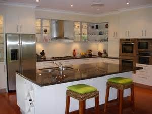 narrow kitchen islands australian kitchen design