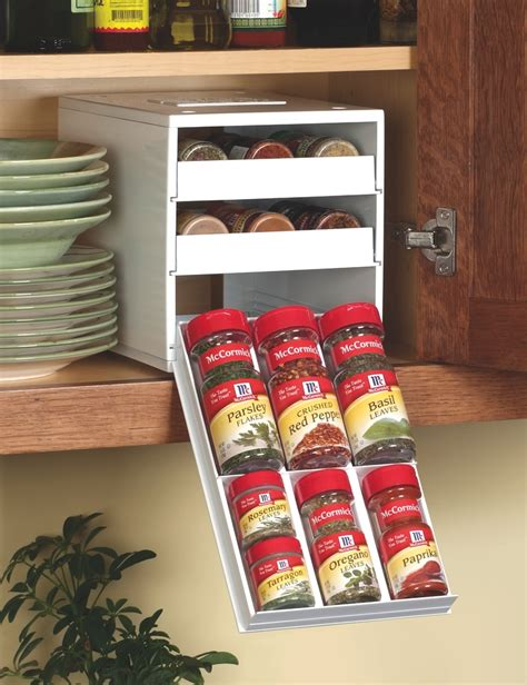Large Spice Organizer new spicestack spice rack helps not so organized cooks