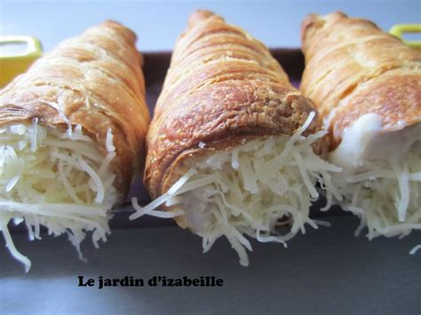 recette pate feuilletee jambon fromage cornets feuillet 233 s jambon fromage home made le jardin d izabeille