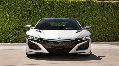 2017 acura nsx white wallpaper hd car wallpapers id 8242
