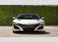 2017 Acura NSX White Wallpaper HD Car Wallpapers ID #8242