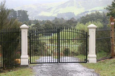 gate pillars for residential homes gates welcome to erecta fence