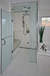 salle de bain moderne avec douche italienne With salle de bain moderne bois