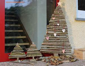 Basteln Mit Zweigen : weihnachtsbaum aus sten ~ Watch28wear.com Haus und Dekorationen
