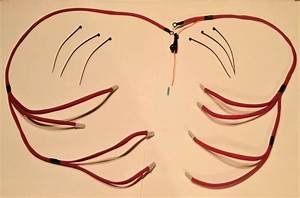 Chevrolet Gmc Chevy 6 5l Turbo Diesel Glow Plug Wires Harness Kit Red Improved