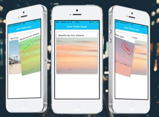 card template tinder making tinder style swipe cards with ionic framework