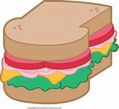 Picnic Clipart Sandwich Clip Preschool Party Printable