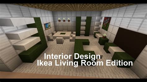 Minecraft Interior Design (living Room Ikea Edition