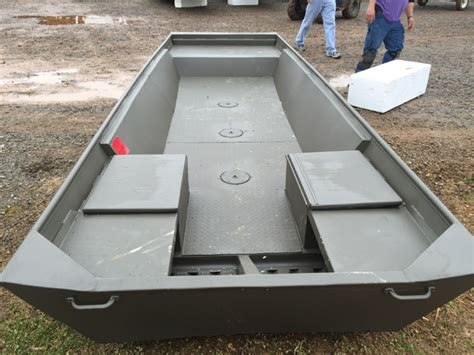 Flat Bottom Boat Pods by Commercial Boats Tinboats Net