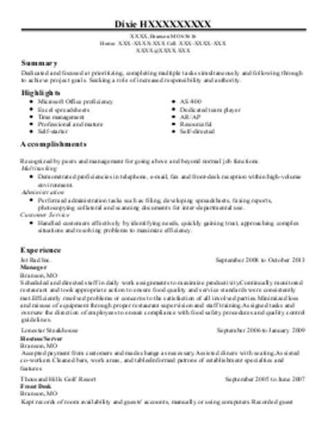registered senior client associate resume exle merrill