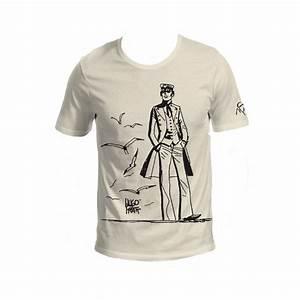 T Shirt 40 Ans : t shirt hugo pratt 40 ans coloris ecru ~ Farleysfitness.com Idées de Décoration