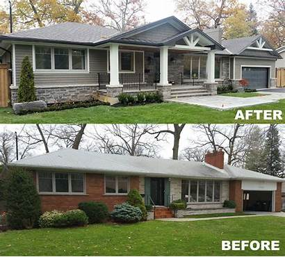 Bungalow Addition Exterior Homes Transformation