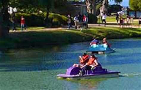 Paddle Boats Dennis Menace Park monterey tidepooling monterey ca dennis the