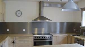 Pose Credence Verre : cr dence cuisine comment la choisir ~ Premium-room.com Idées de Décoration