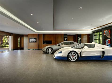 Luxury Garages  Where Women Have No Say Luxury Design